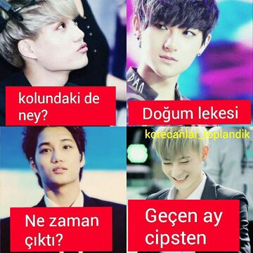 KORE CAPSLERİ -1- - tao - Wattpad