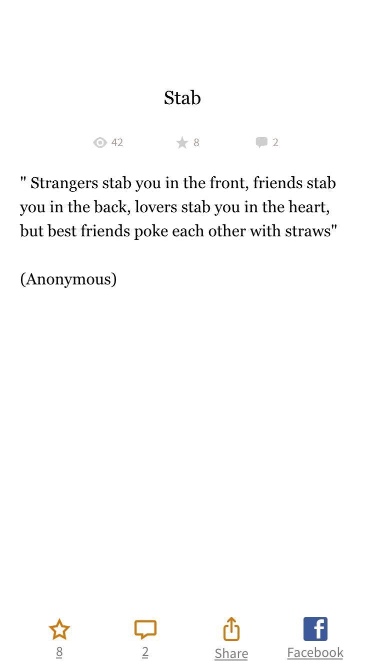 Beautiful Quotes Stab Wattpad