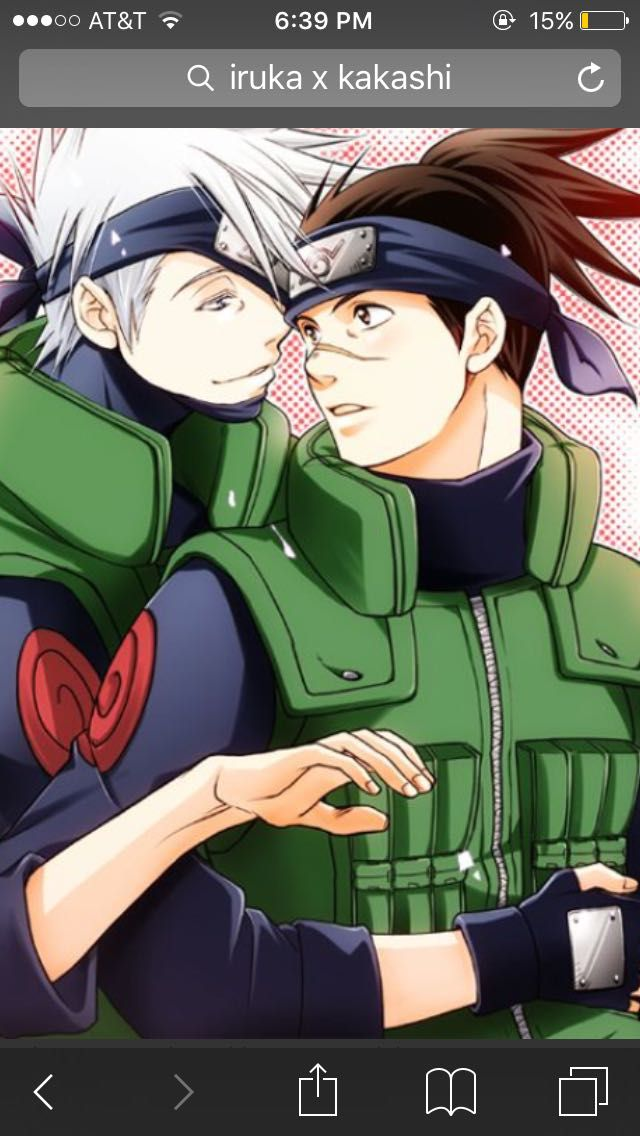 Kakashi x iruka (can't keep my hands off you baby) ️ ️ ️ ...