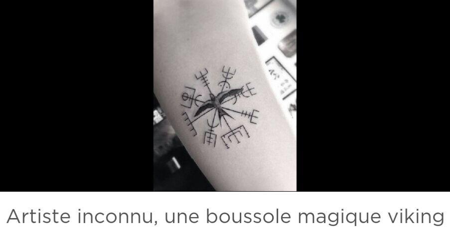Significations De Tatouages Symboles Vegvisir Wattpad