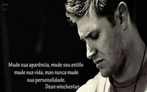 Dean Winchester Frases 01 Wattpad