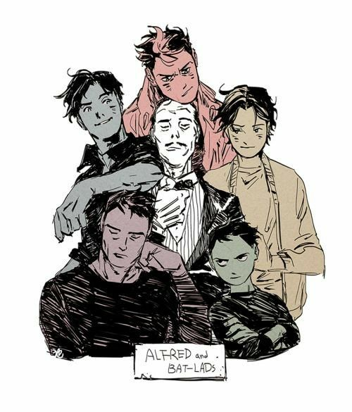 Bat family x BATMOM!!!!!!!! reader) That's just how it is