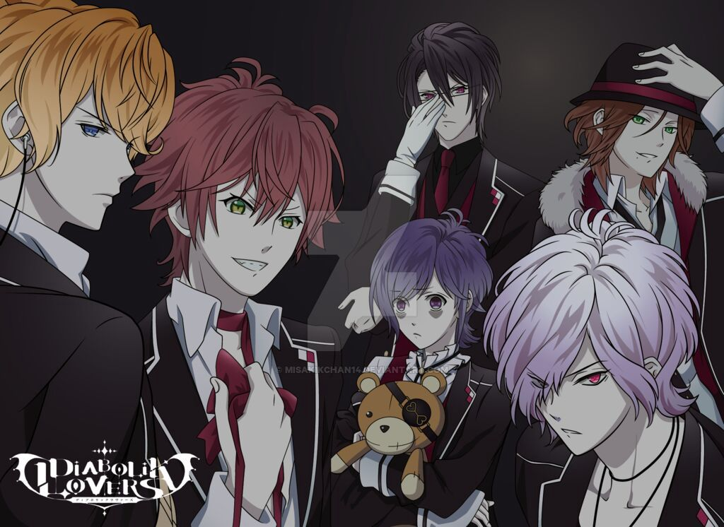 diabolik lovers anime crack #2