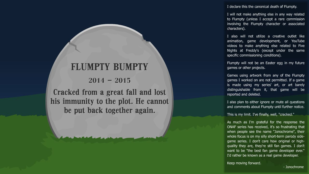Ask or Dare the Ghost of Flumpty Bumpty - Prolouge - The