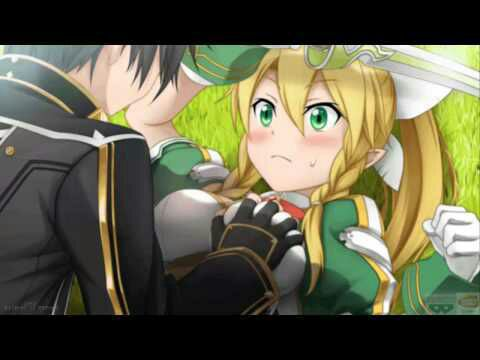 kirito and leafa