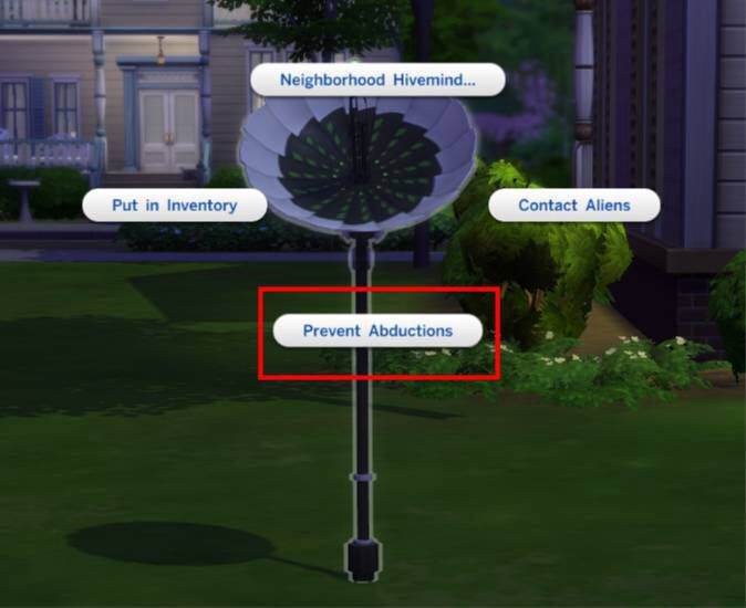 Sims 4 Cheats, Tips and More! - Tips: How To Get Abducted By