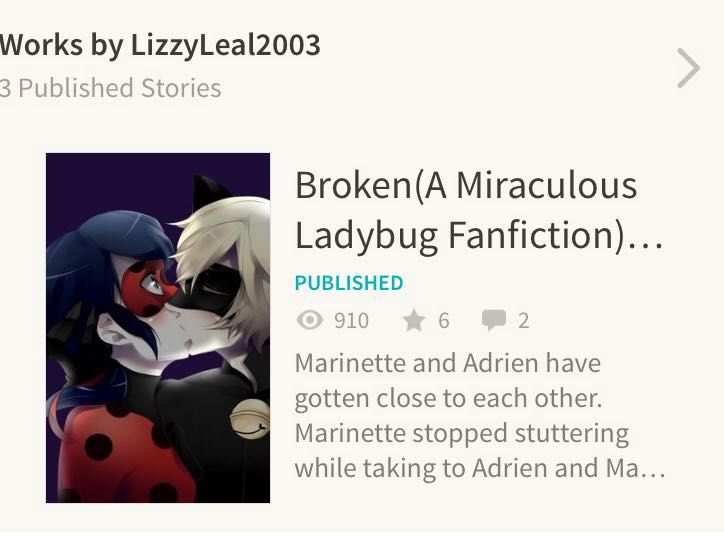 Miraculous Ladybug Fanfic Marinette