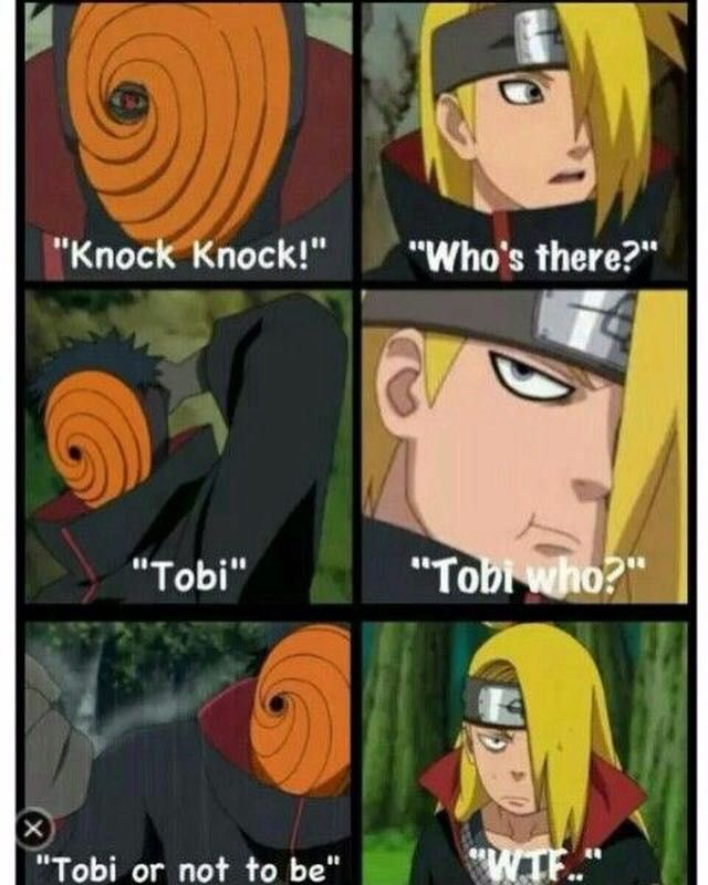 naruto jokes most of them are not made by me 7 knock knock