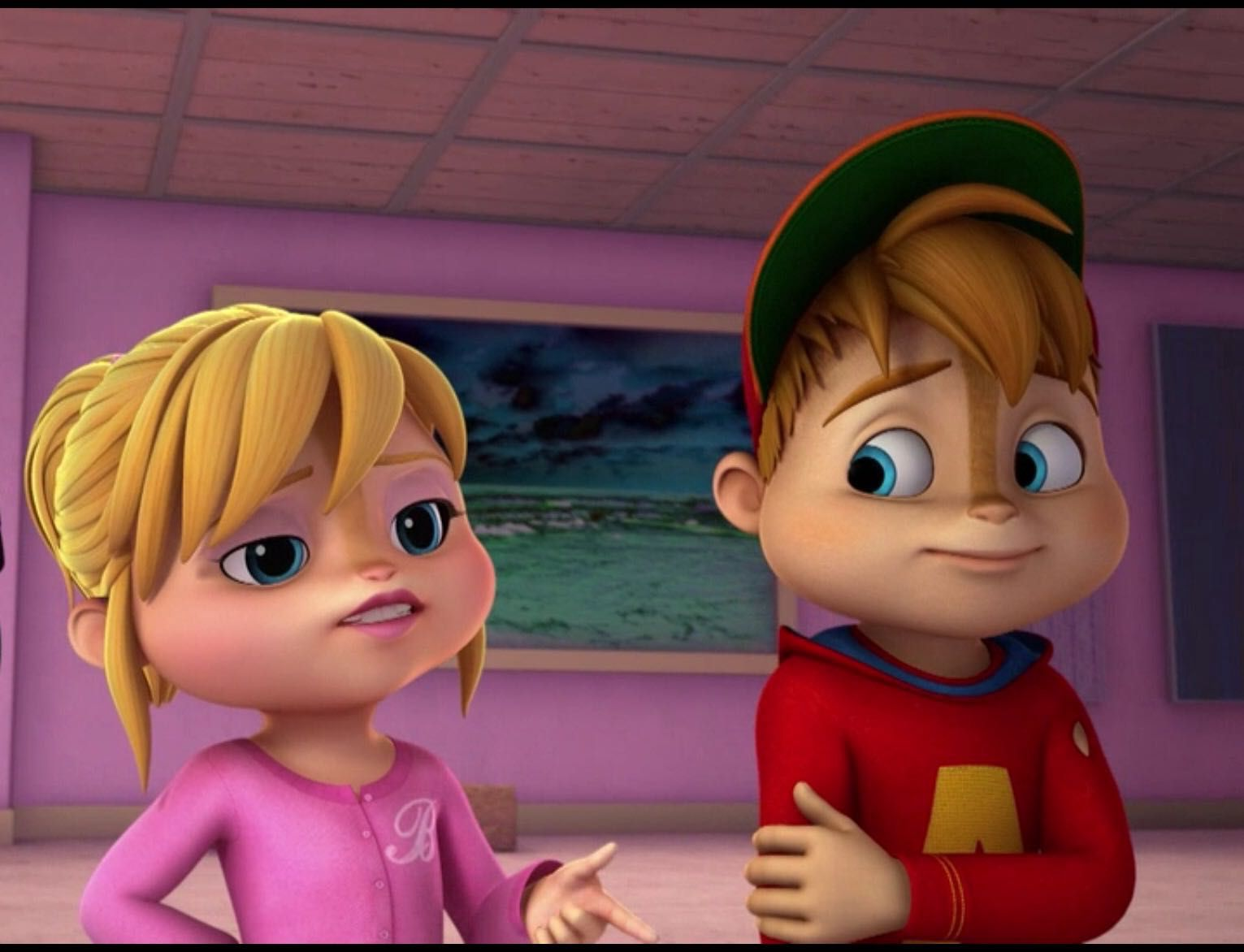 Alvin And The Chipmunks Alvin And Brittany falling for you - chapter 3: simon and jeanette's plan