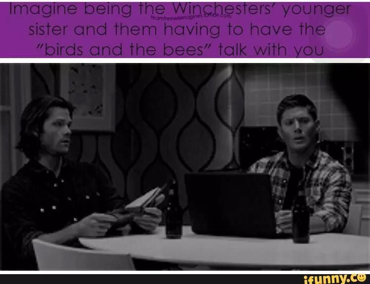 Supernatural Imagines/One shots - Imagine Being Sam/Dean's little