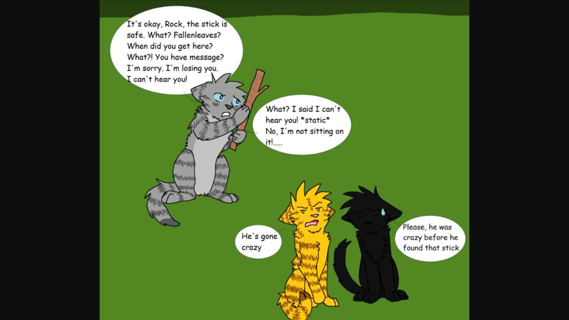 warrior cat memes jayfeather and his stick wattpad