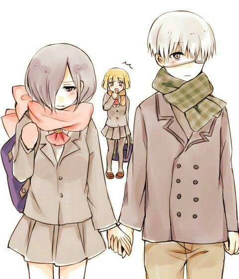 Touka chan tiene 16 y kaneki 18 por razones del des amor kaneki lemon