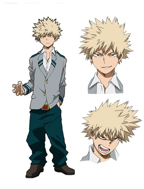 Male Character x Male Reader One-Shots - Bakugou Katsuki (Boku no