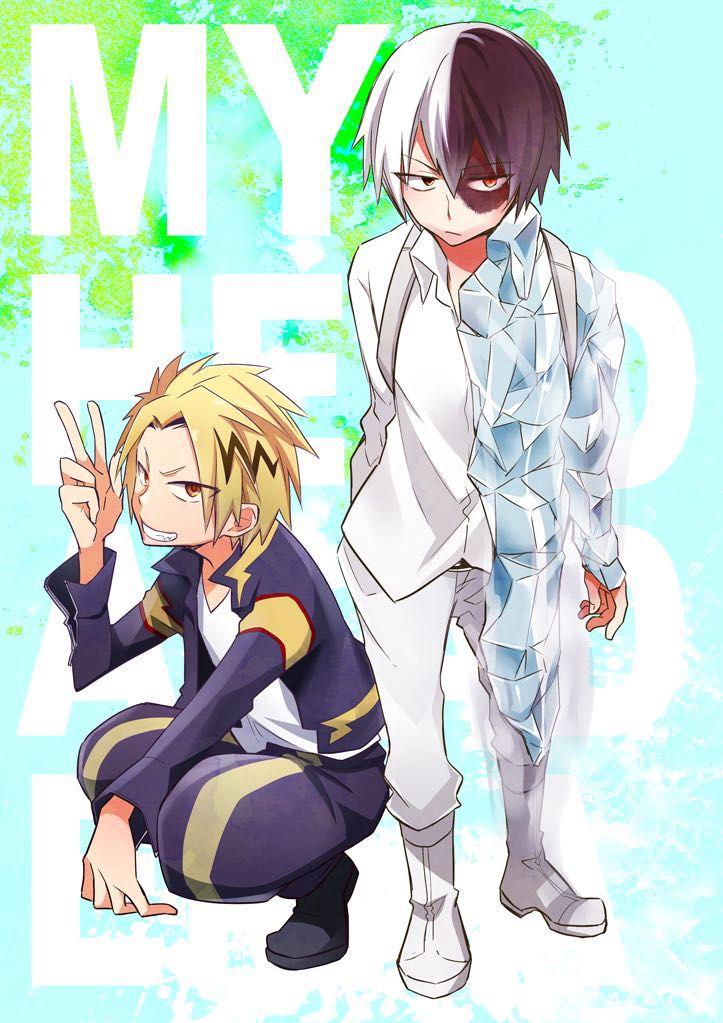 Boku no hero academia one shots denki kaminari shouto todoroki parfait wattpad - Boku no hero academia shouto ...