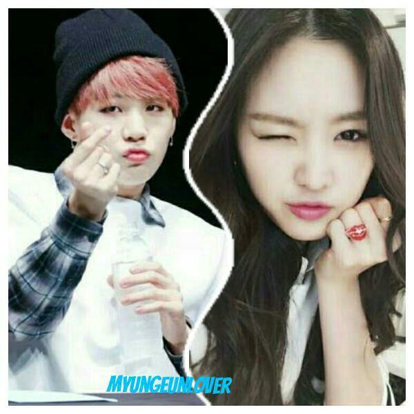 BTS Jimin og apink naeun dating