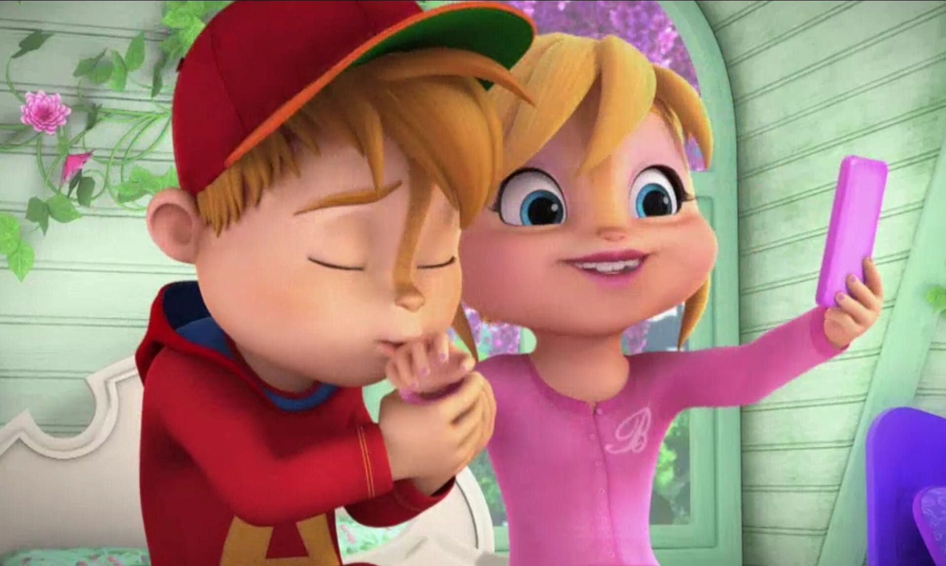 Alvin And The Chipmunks Alvin And Brittany falling for you - chapter 7: first day in charge - wattpad