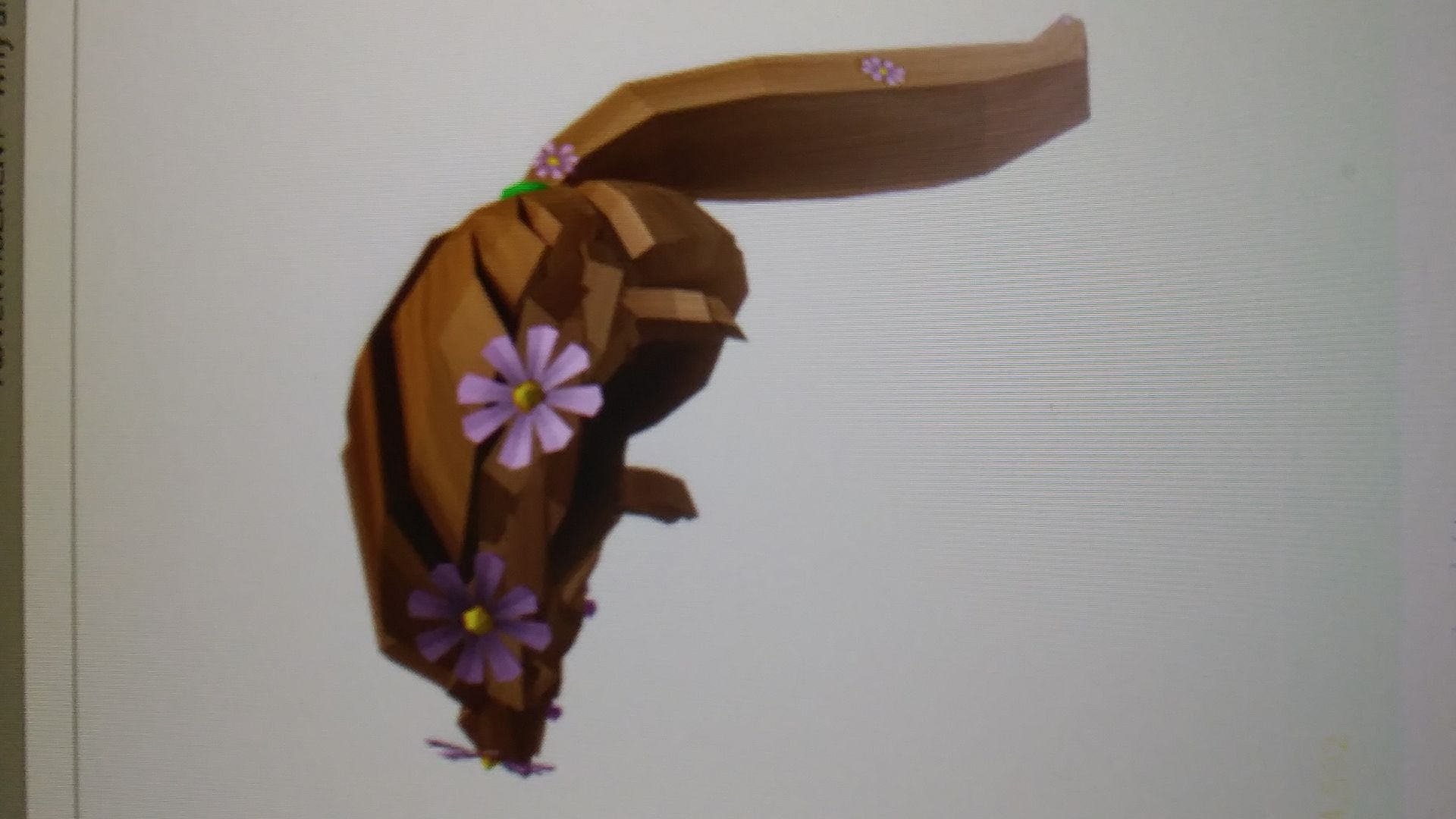 roblox ids - spring flowers hair