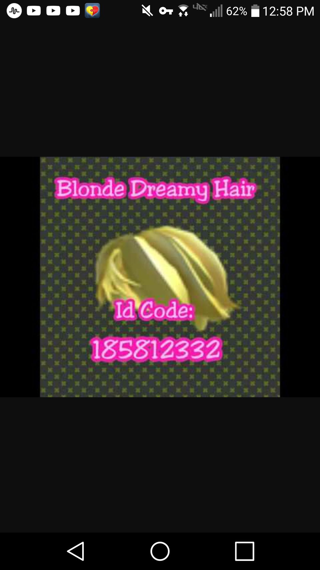 ROBLOX IDS - blonde dreamy hair - Wattpad