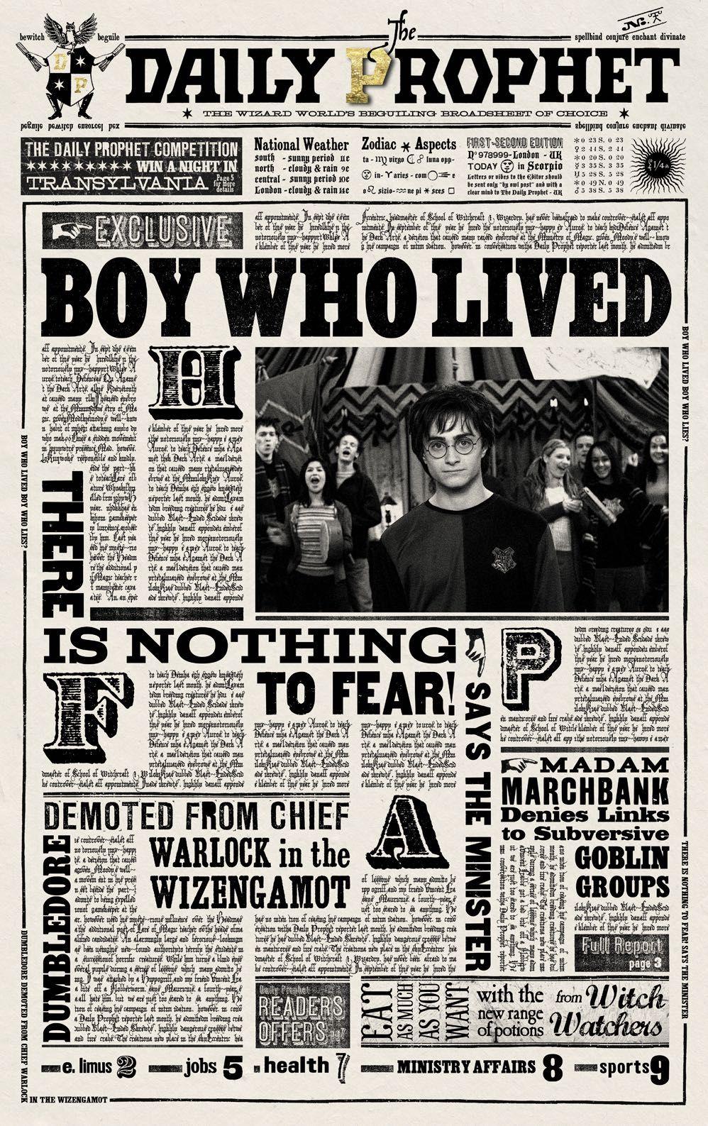 Rita Skeeter Weekly - Casper Malfoy: Son of Harry Potter and Draco Malfoy? - Wattpad
