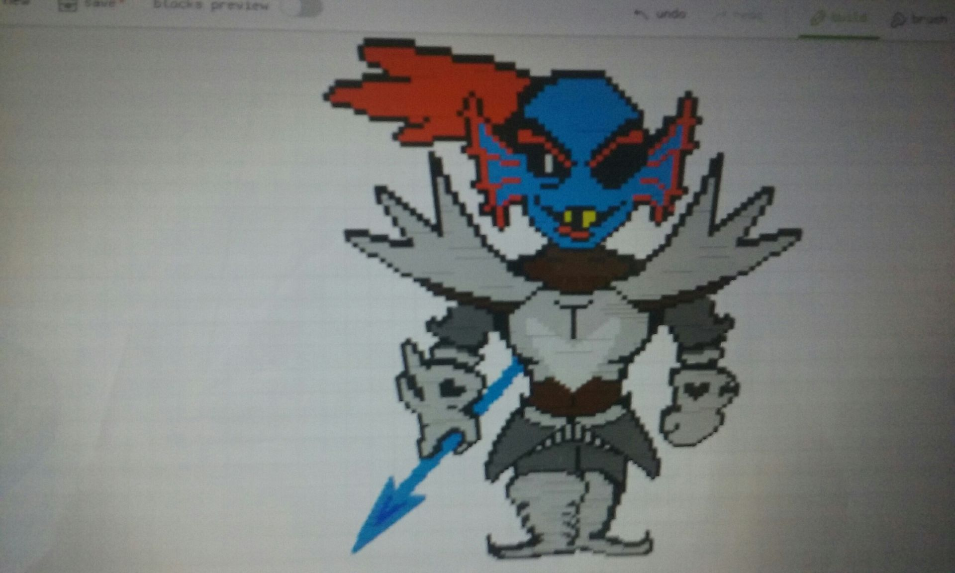 Undertale Pixel and Art Book - Undyne the Undying - Wattpad