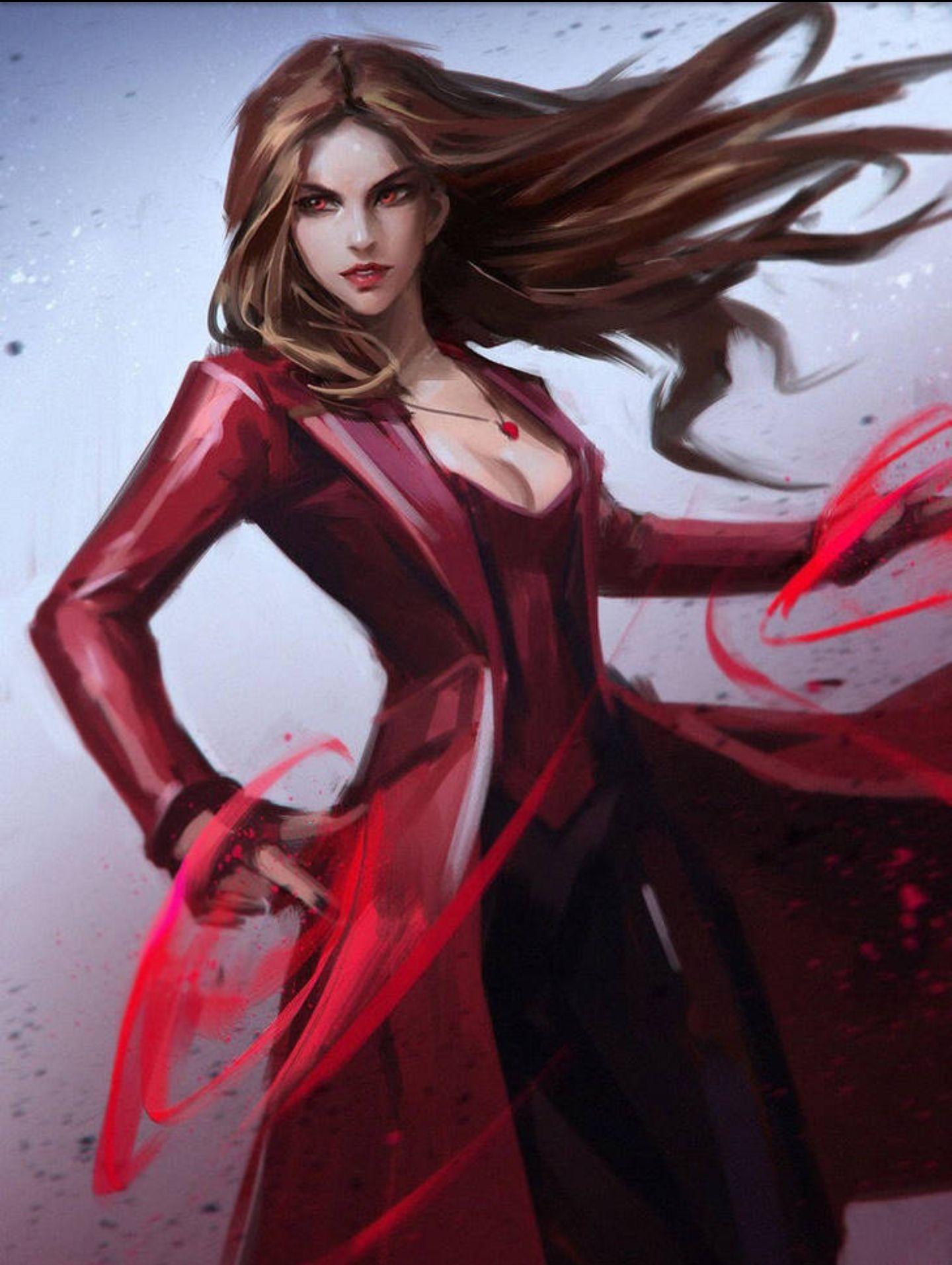 Marvel Fem X male reader  (Lemon, Harem, One shot) - Scarlet