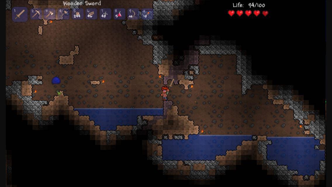 Terraria Legends 1 - The Last Survivors - The Caves: 4 Ore