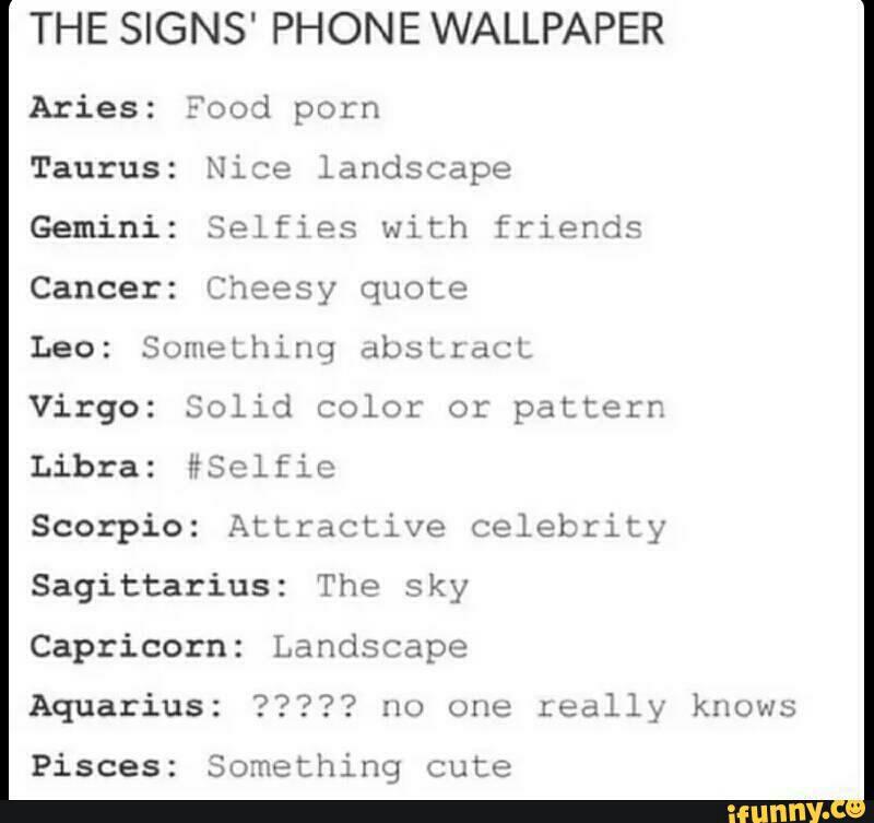 Creepypasta Funny Mature Random Zodiac