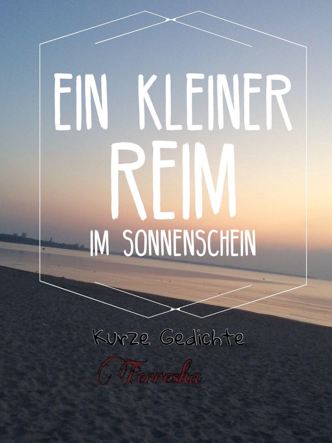 Ein Kleiner Reim Im Sonnenschein Der Rhein Wattpad
