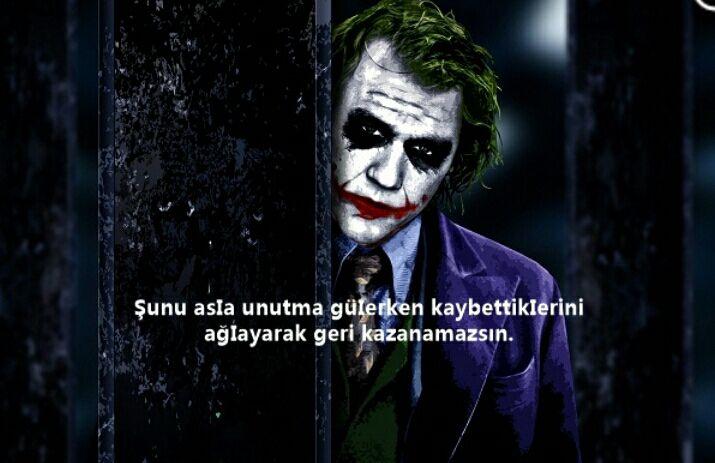 Image result for jokerin ünlü sözleri