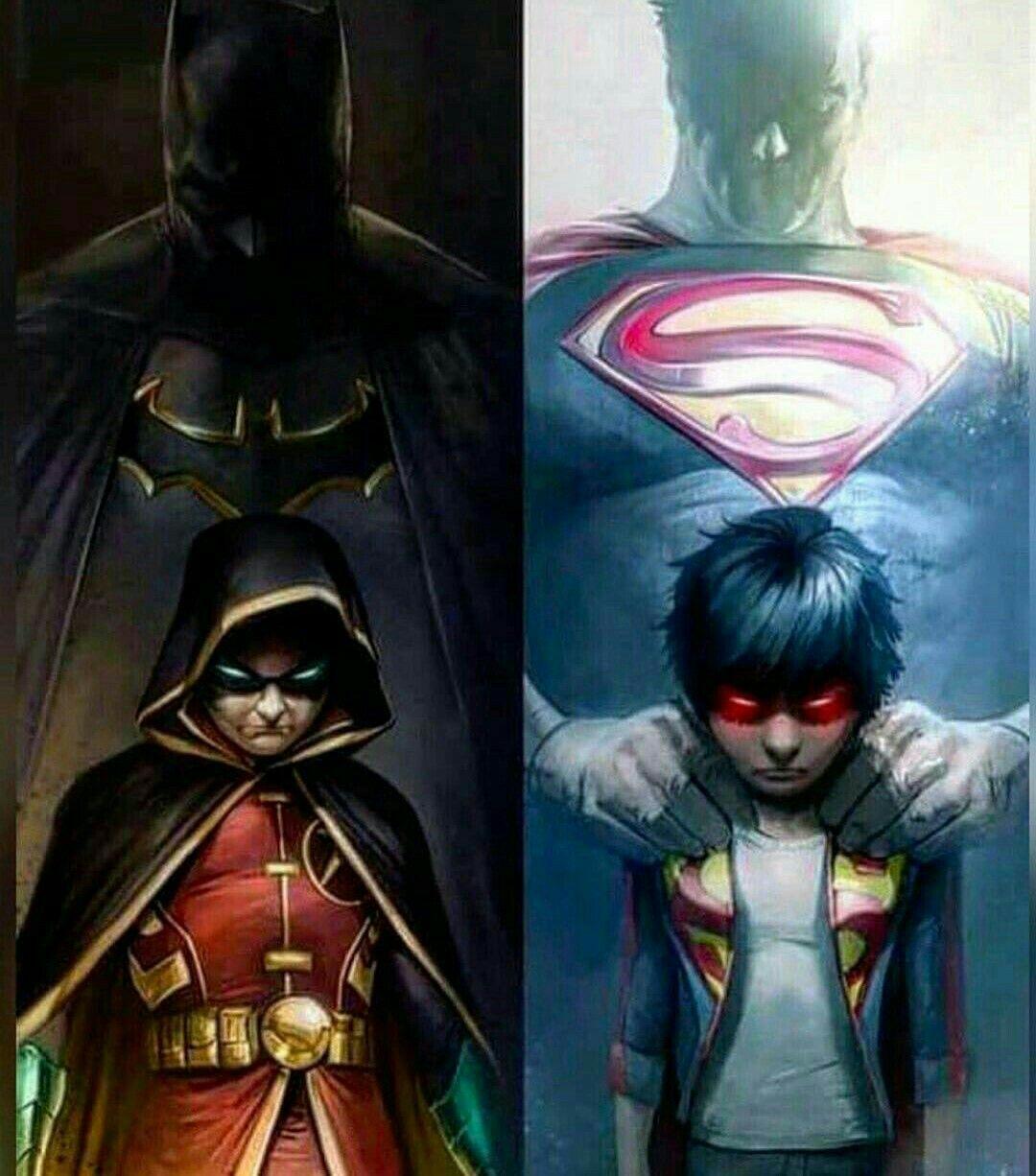 DC Comics Imagines 2 *Editing* - Damian Wayne x Sibling
