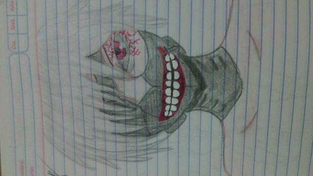 Mis dibujos  Kaneki de Tokyo Ghoul  Wattpad