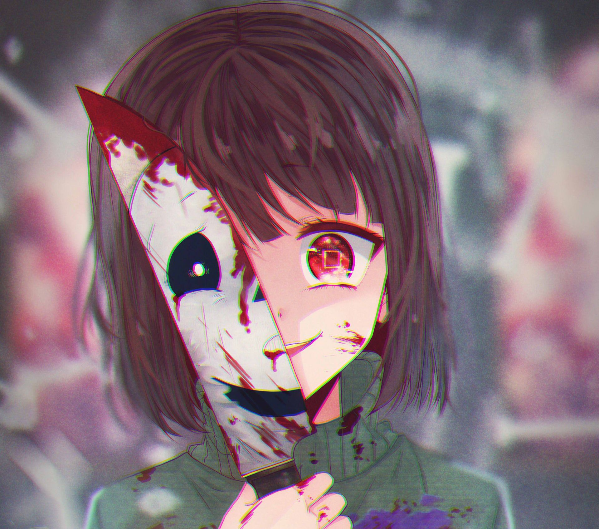 Mangareader Horror: I Am Laughing. I Am Bleeding. {Undertale Chara} {ONE SHOT