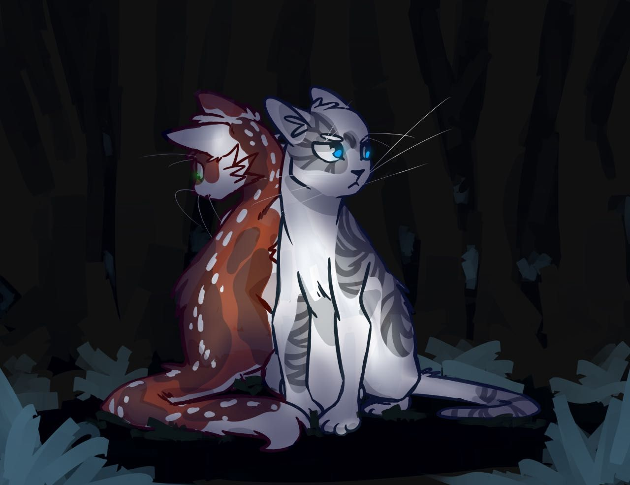 Inaccurate Warrior Cat Quotes - Blossomfall & Ivypool ...