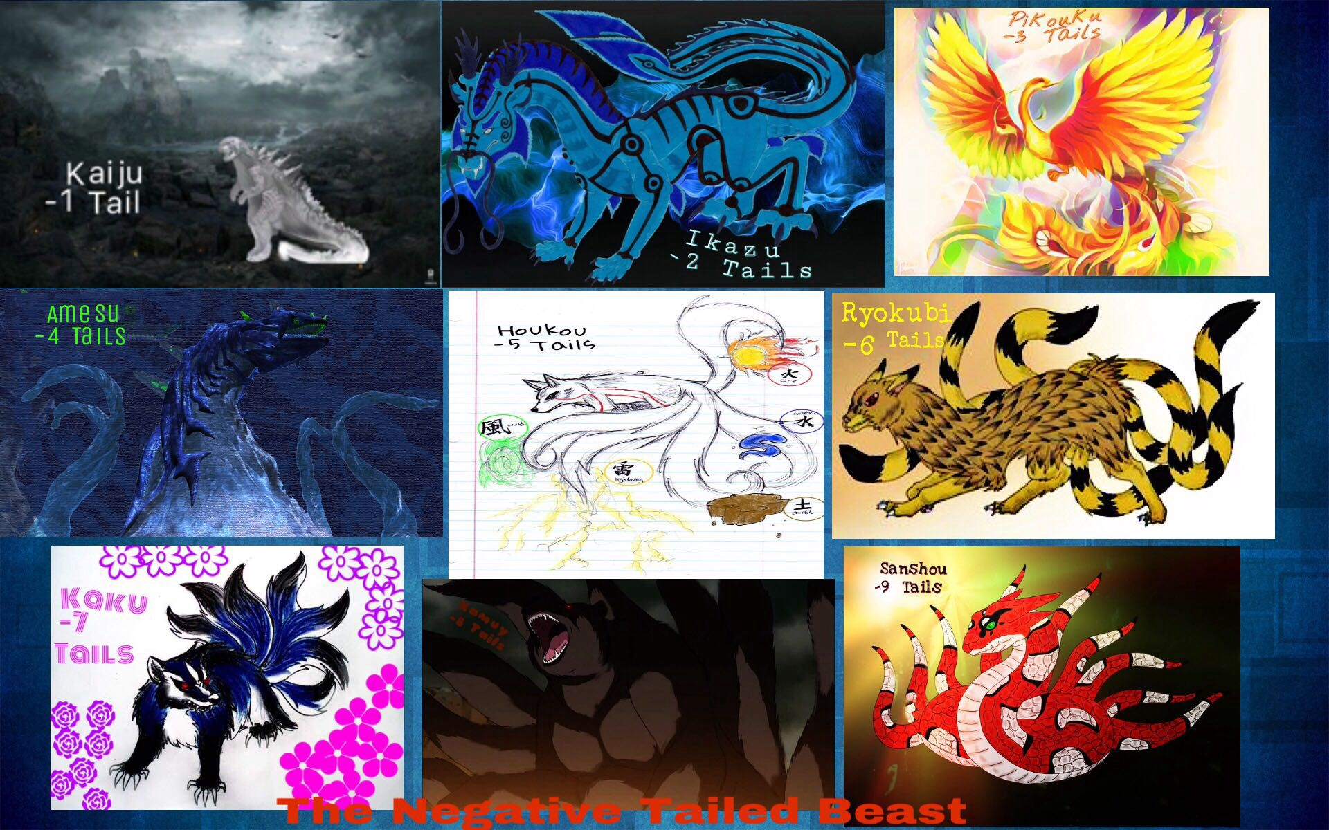 0 Tails Naruto the negative tailed beast and jinchuuriki - the beginning
