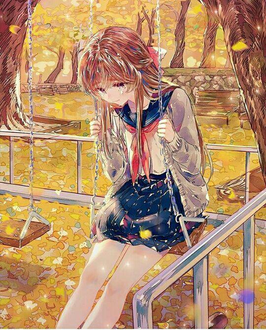 100 Gambar Anime Galau Dan Sedih Paling Bagus