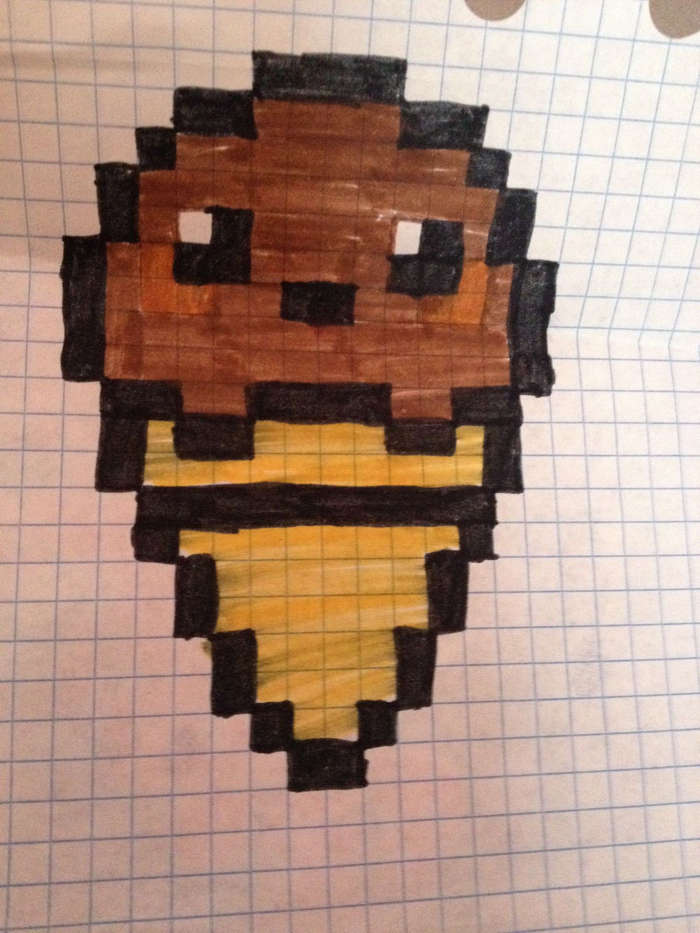 Mes Pixels Glace Au Chocolat Wattpad