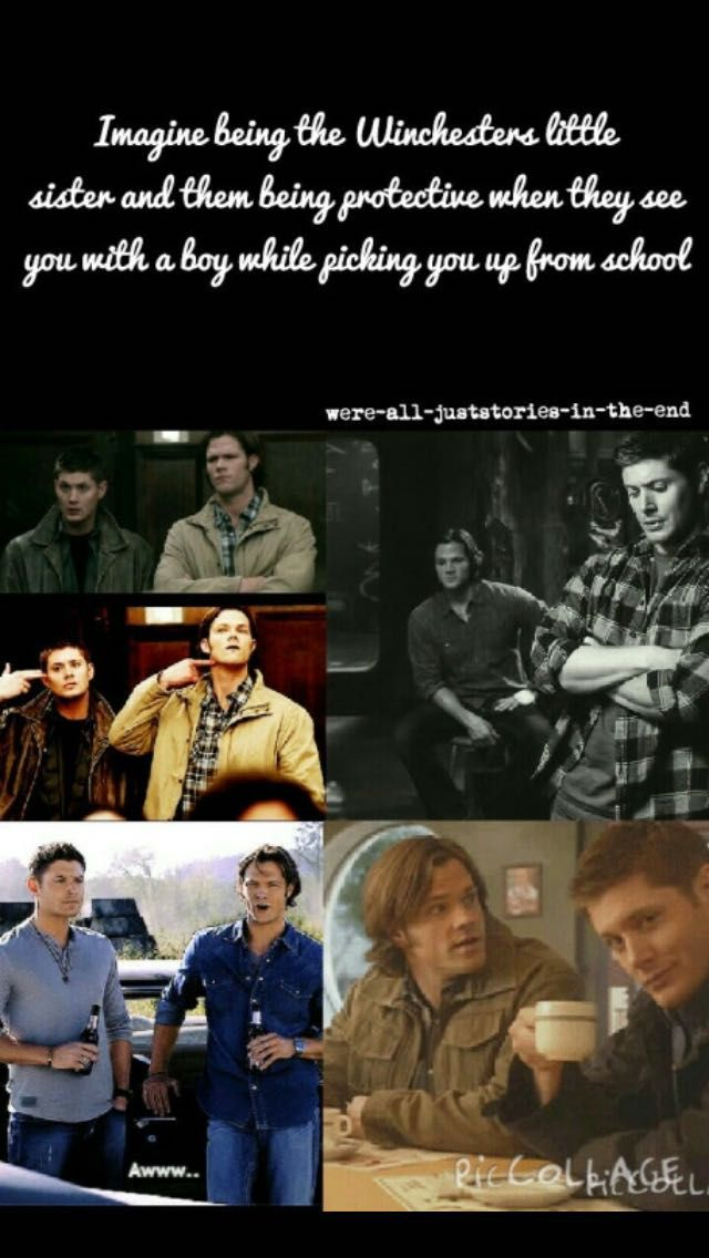 Supernatural Mini-Stories - Just Friends (Winchester Little Sister
