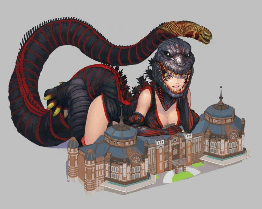 Male Reader x Fem Yandere Various 2 - Shin Godzilla x Male