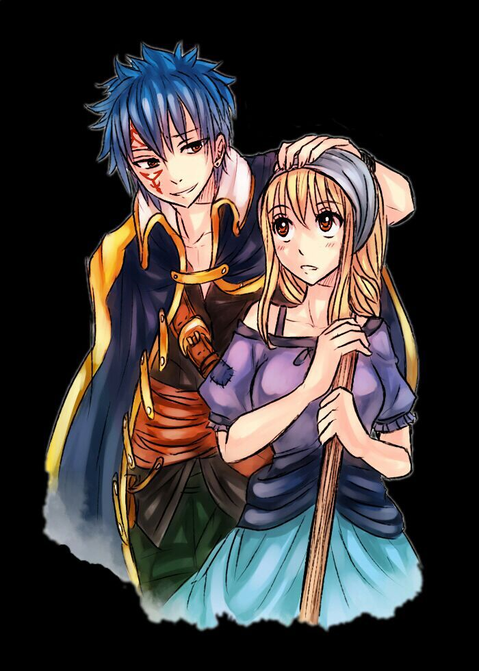 fairy tail worst ships w   pictures - lucy x jellal