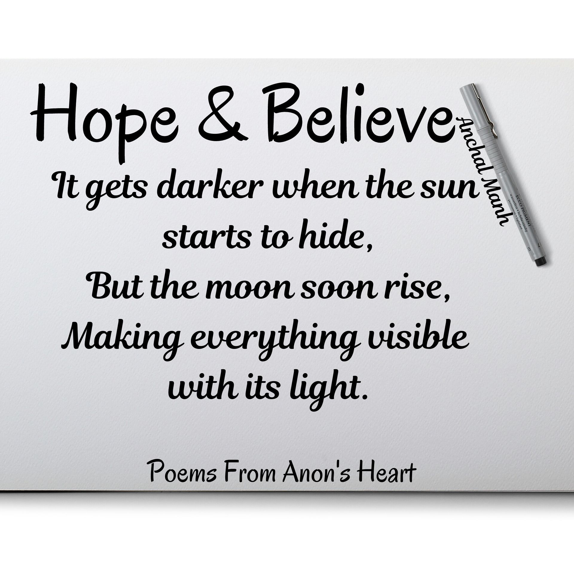 Poems From Anon S Heart Hope And Believe Wattpad Having hope propels us to achieve our dreams and drives us forward toward our pursuits. hope and believe wattpad