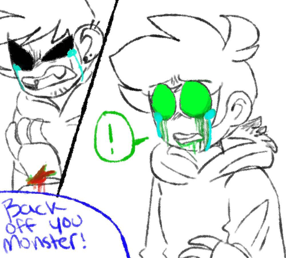 Eddsworld x Reader One Shots - Corrupt AU!Edd x Reader