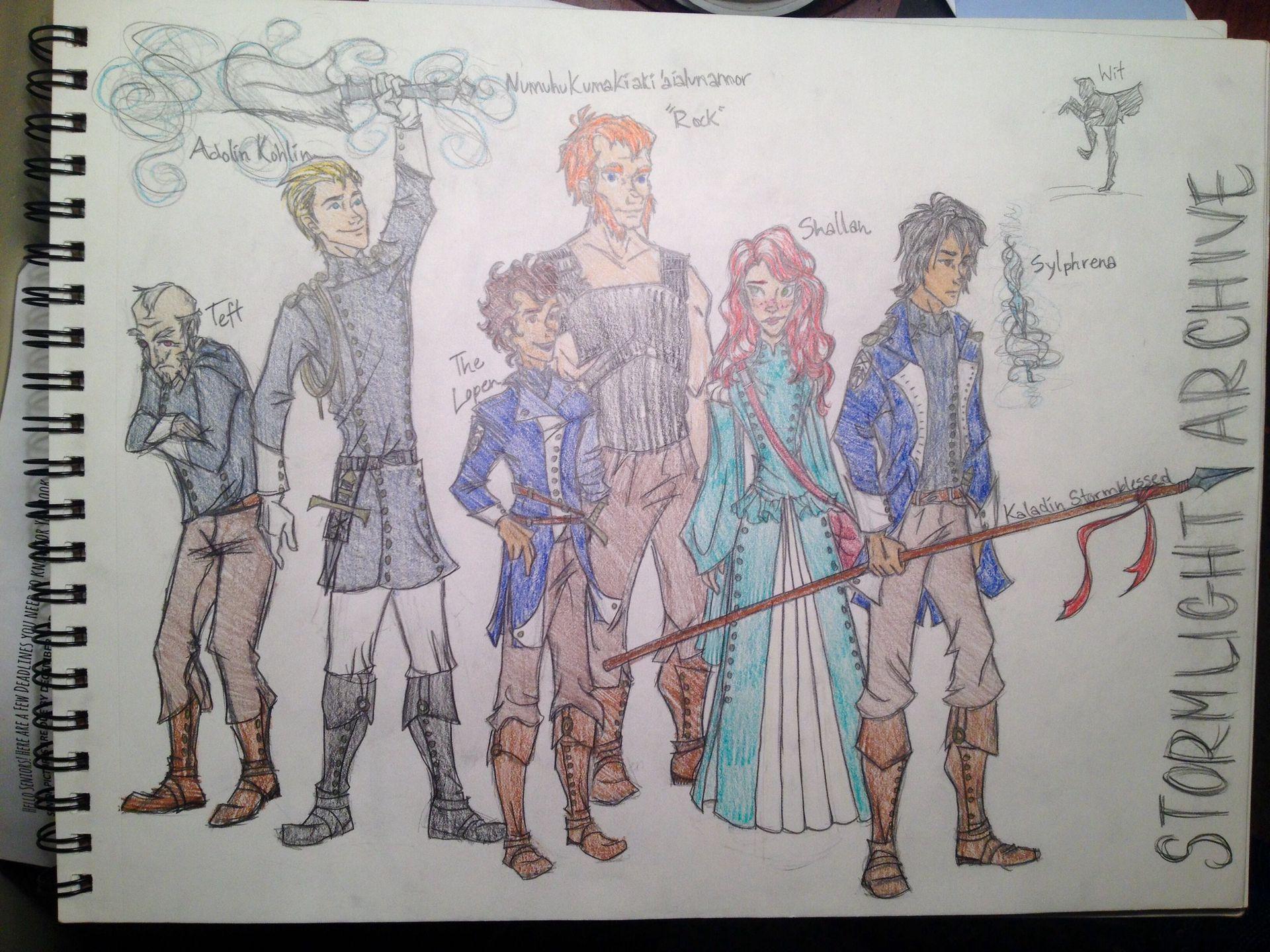 Drawings The Way Of Kings Wattpad