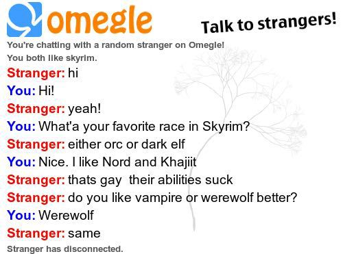 Omegle gay chat