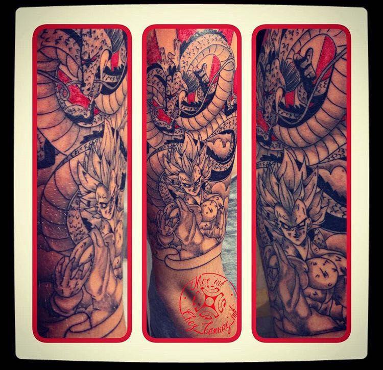 My Draw Tattoo Dbz Wattpad