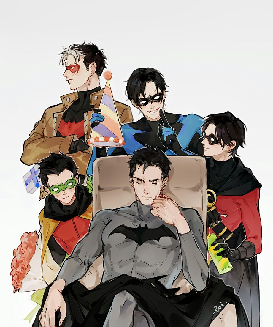 Bat Family × Reader Senarios - Nightwing × Suicidal Reader