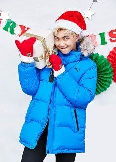 Image result for bts rm christmas