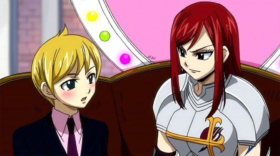 fairy tail worst ships w   pictures - eve x erza