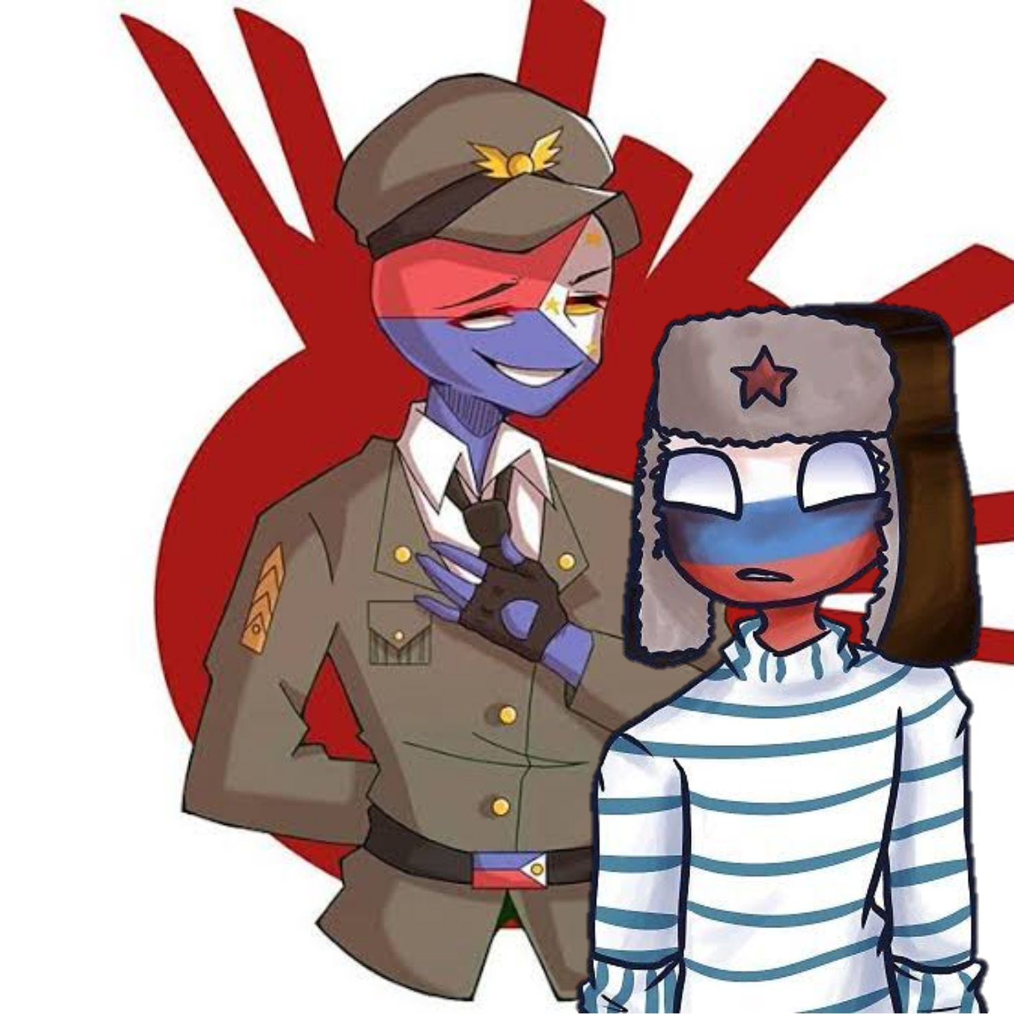 Yaoi One Shots Countryhumans Martial Philippines X Russia