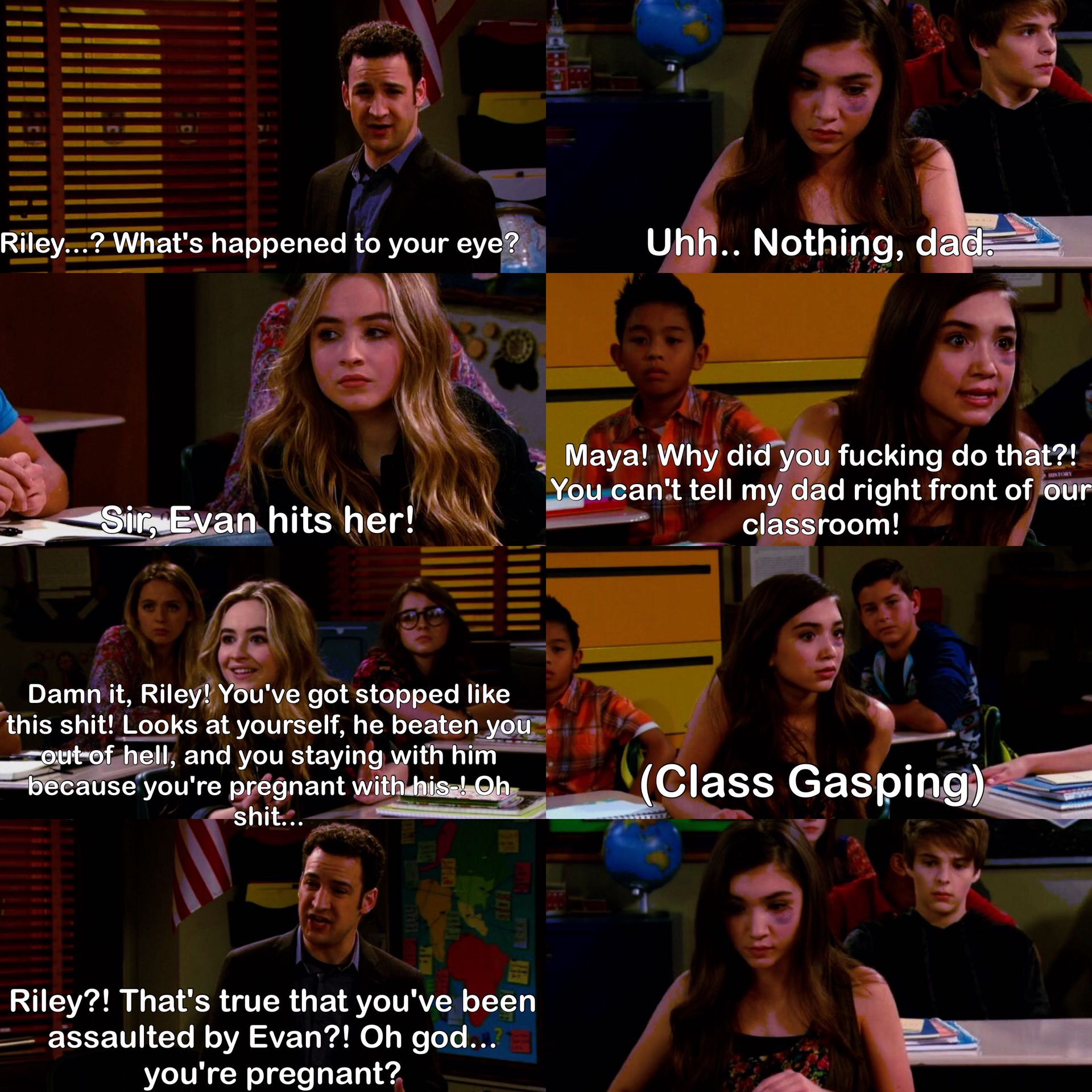 Girl meets world pregnancy fanfic