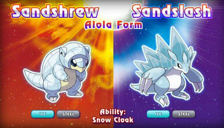 Ash's Alola Team (Prediction) - 4. Alolan Sandshrew to Sandslash ...